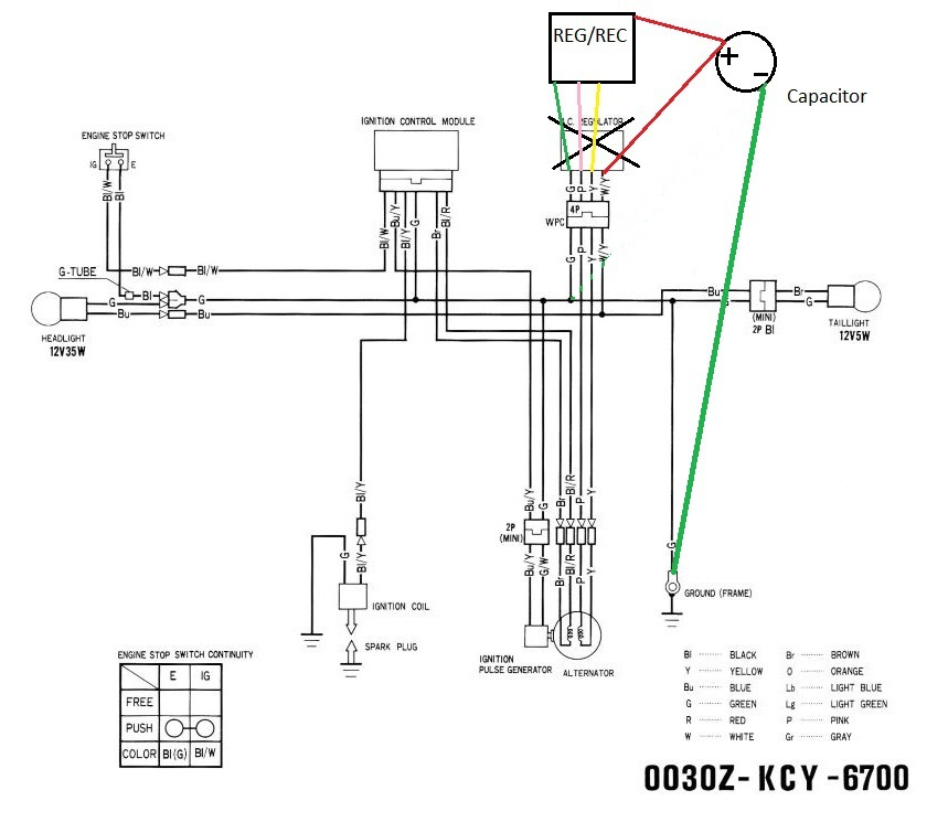 xr 400 engine diagram ford 400 engine diagram '99 xr400r enduro wiring updates - xr250r & xr400r ...