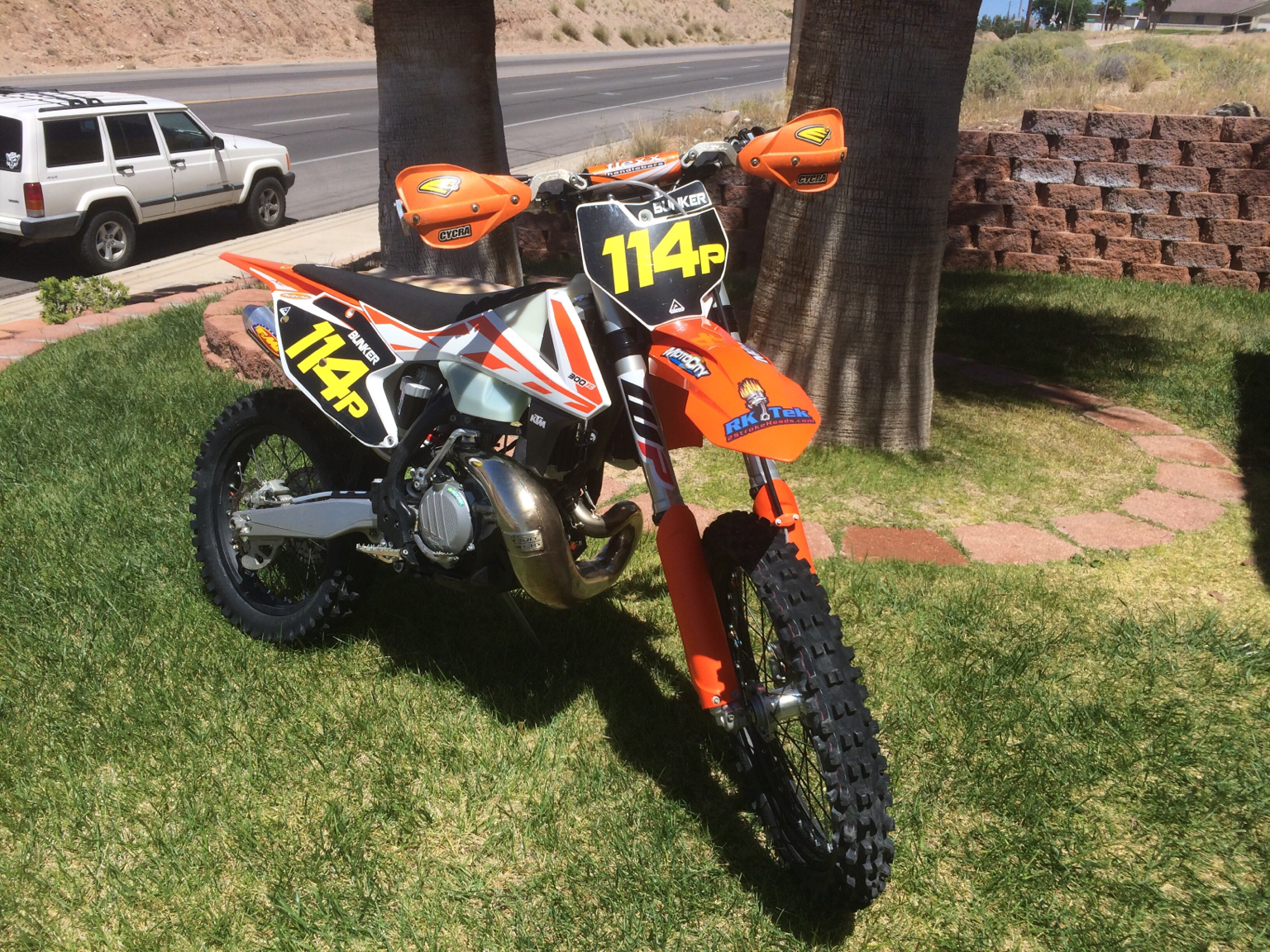 2017 KTM 300 XC Mods What have you done? Husqvarna TX 300