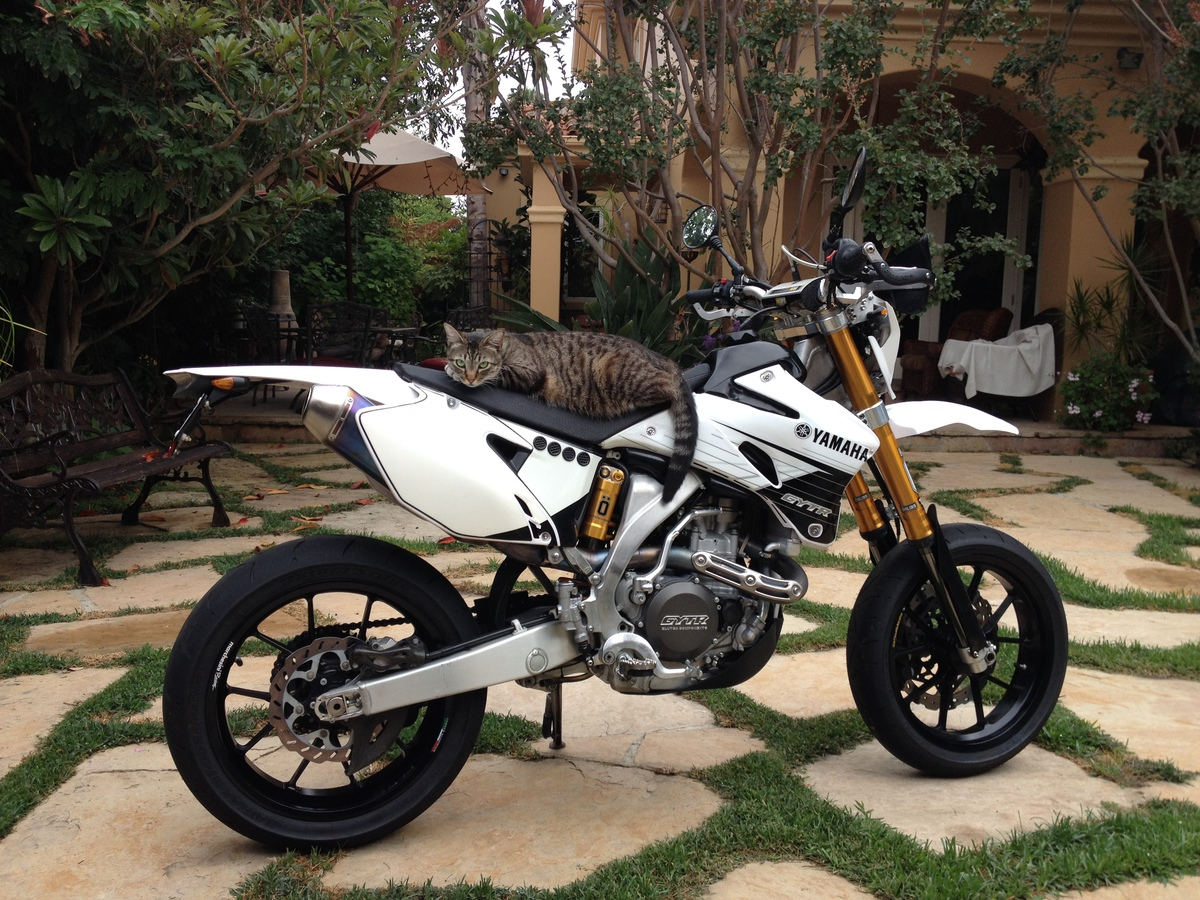 ca plated wr450f with supermoto conversion california. Black Bedroom Furniture Sets. Home Design Ideas