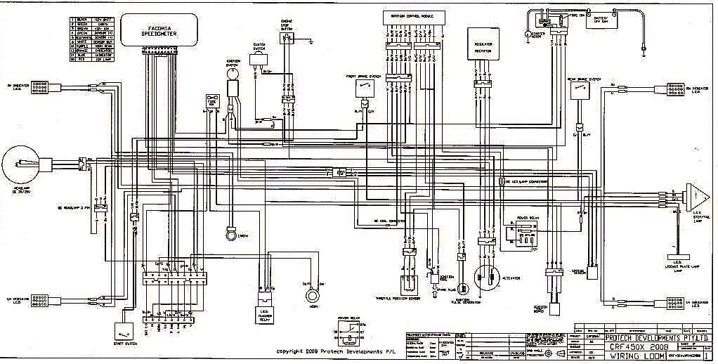 Adr Wiring Diagram  For Aussies  - Crf450x