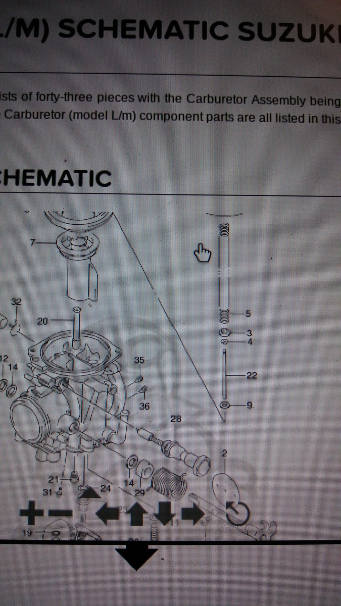 Cleaned Carb Dr250 And Small Jet In Float Bowl Idk What Its For 1994 Dr350 Wiring Diagram 20170717 212616