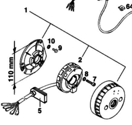 what can i replace my 1995 ktm 300 exc stator with help!!!! ktm 2  ktm2 png