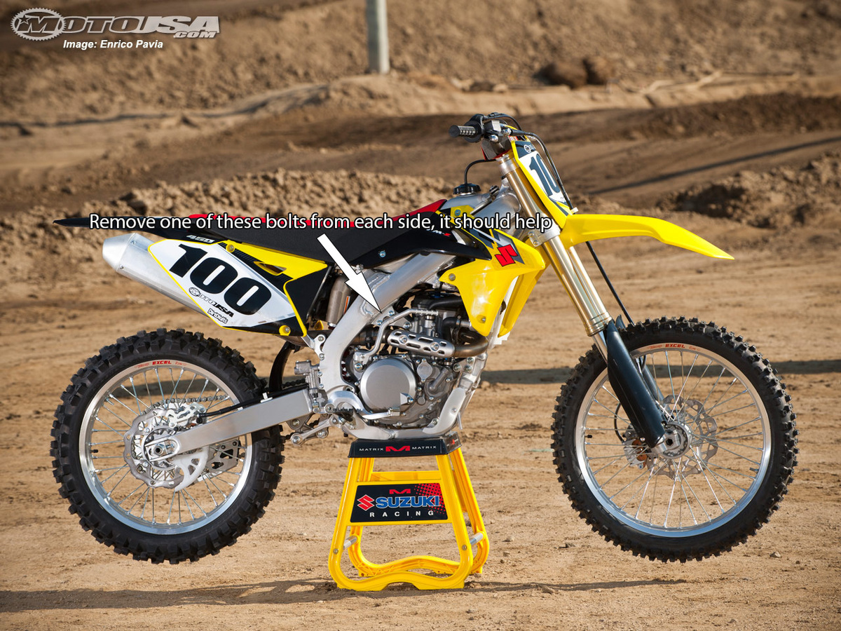 Motor mounts 14 rmz 450 - RMZ 450 - ThumperTalk