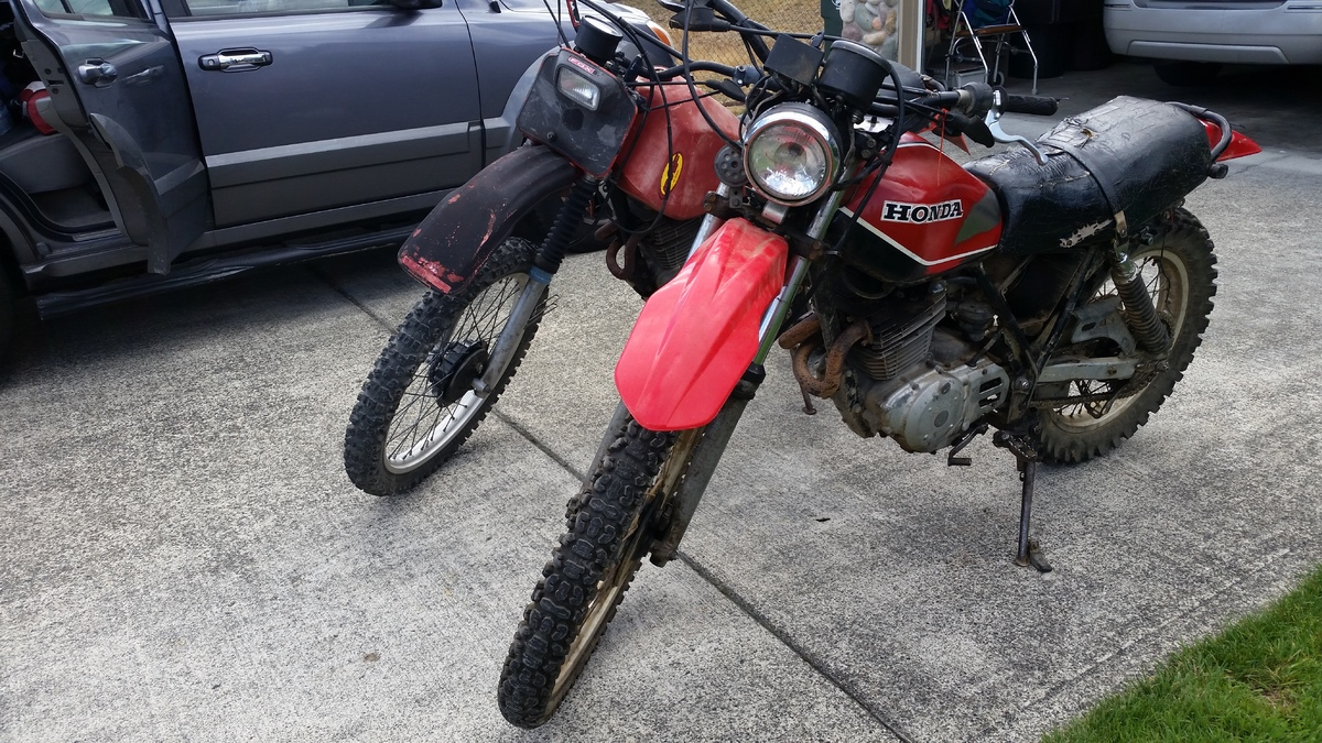 79 Xr500 And 81 Xl500 Build And Issues
