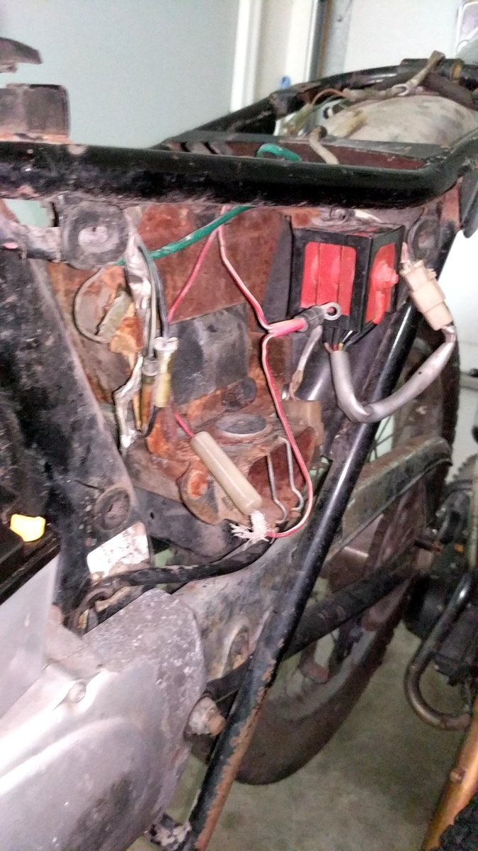 1972 honda sl125 electrical issues vintage dirt bikes thumpertalk Wiring a Homeline Service Panel