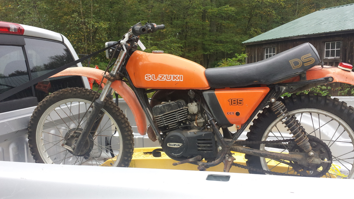 anyone know anything about a suzuki DS185 - Vintage Dirt Bikes