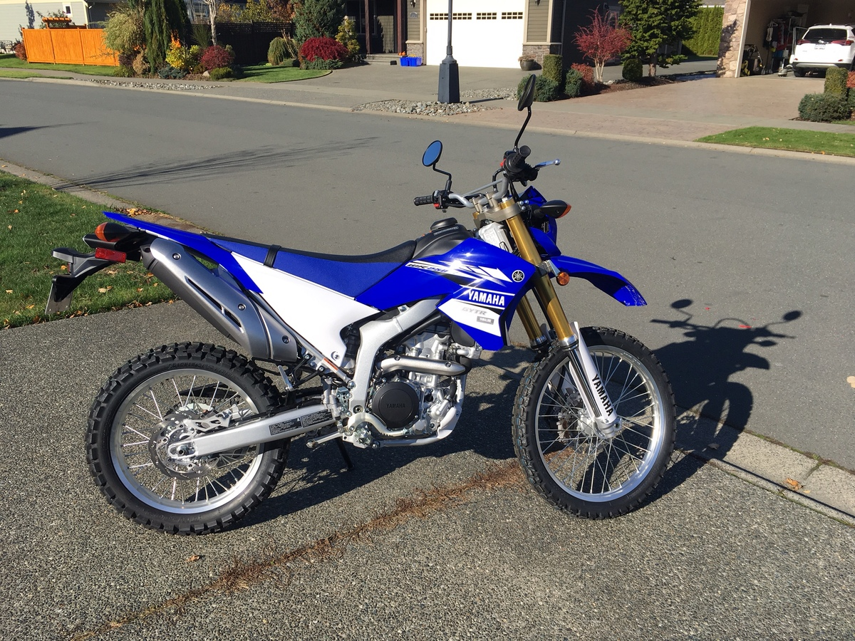 Is the WR250R for me? - Page 2 - Yamaha Dual Sport - ThumperTalk