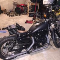 Harley Davidson XLH883DLX Sportster 883 Deluxe (1995)