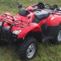 Honda TRX420FPM Rancher 4x4 w/ Power Steering (2011)