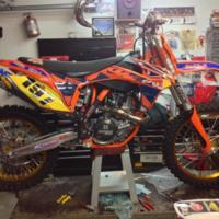 KTM 450 SX-F Factory Edition (2013)