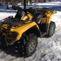 Can-Am Outlander 800 HO 4x4 EFI XT (2008)