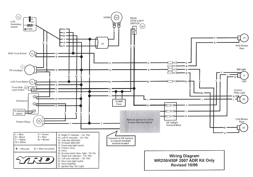 Wr450 Headlight Wiring Diagram - Series Vs Parallel Wiring Speakers In Home  | Bege Wiring Diagram | Wr450 Headlight Wiring Diagram |  | Bege Wiring Diagram