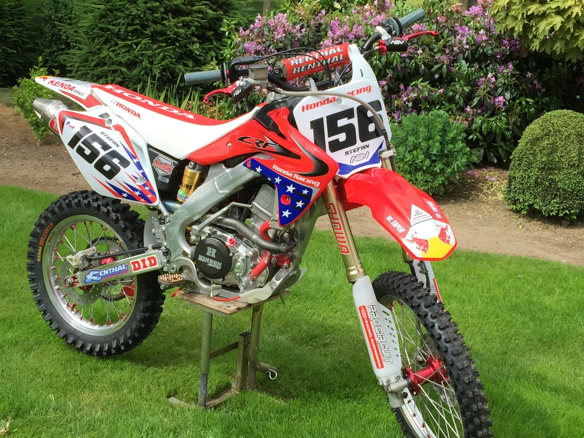 Fantastic Possible To Put On A 21 Wheel On A Crf150R Fork Crf150R Squirreltailoven Fun Painted Chair Ideas Images Squirreltailovenorg