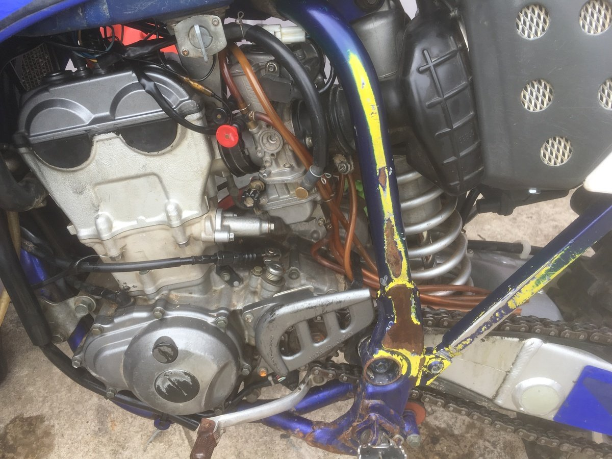 Yz250f Leaking Fuel Everywhere From Overflow - WR250F/YZ250F