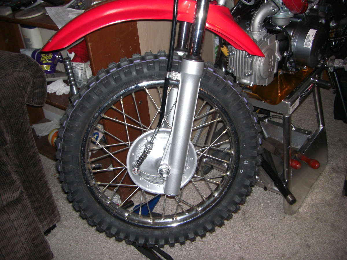 Yet another XR70 build - XR/CRF50, XR/CRF70, & CRF110