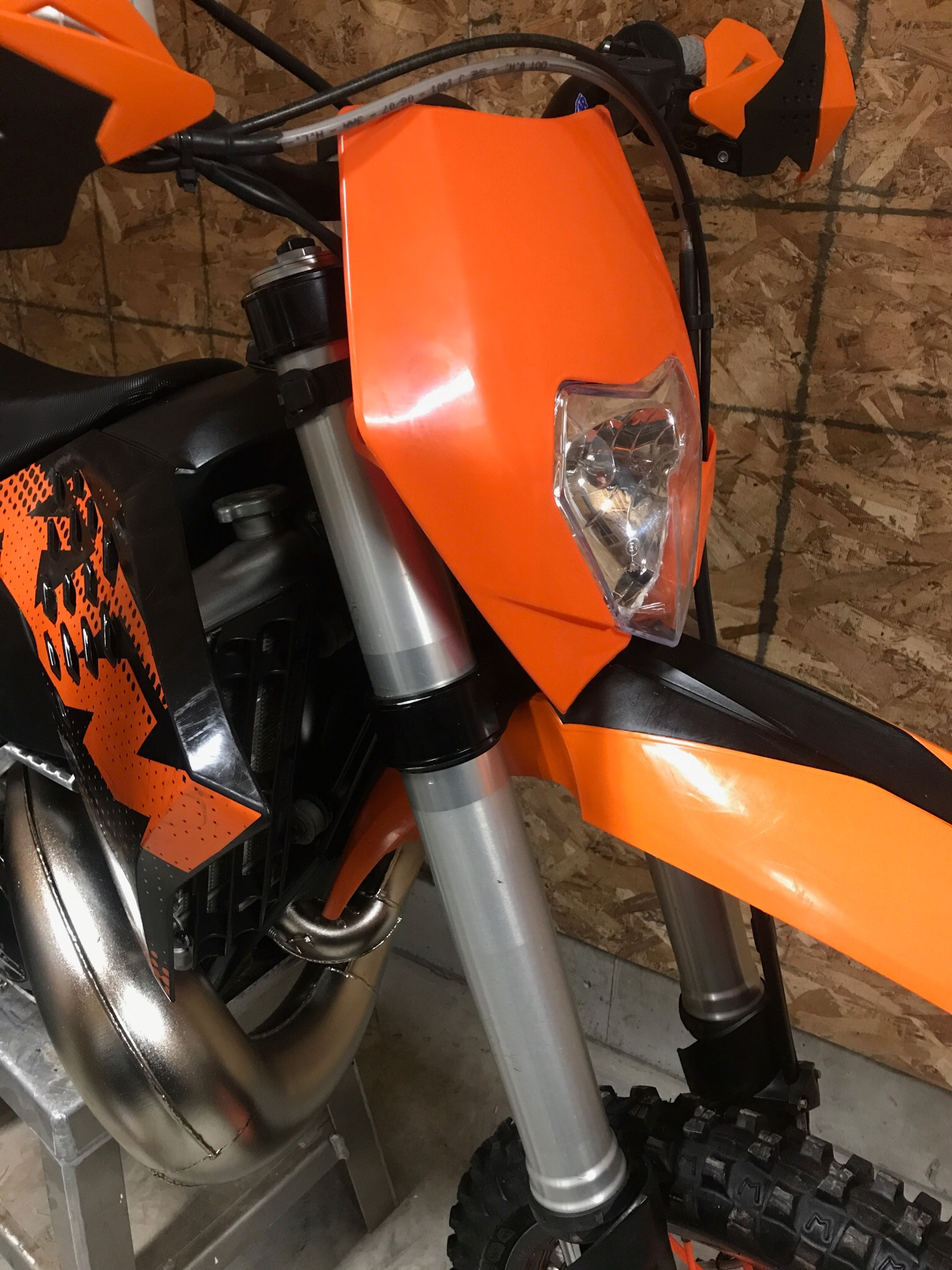 2009 300 xc w headlight ktm 2 stroke thumpertalk rh thumpertalk com