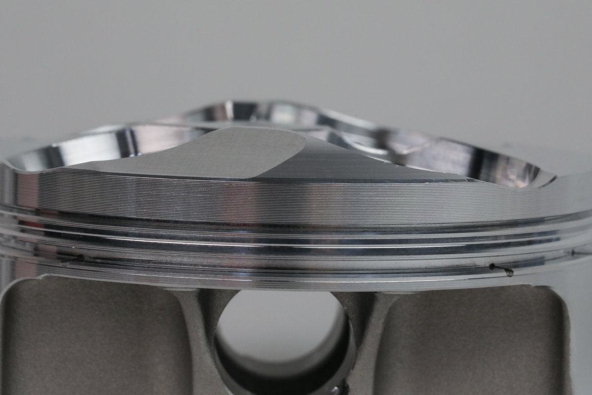 JE Piston Crown Side View
