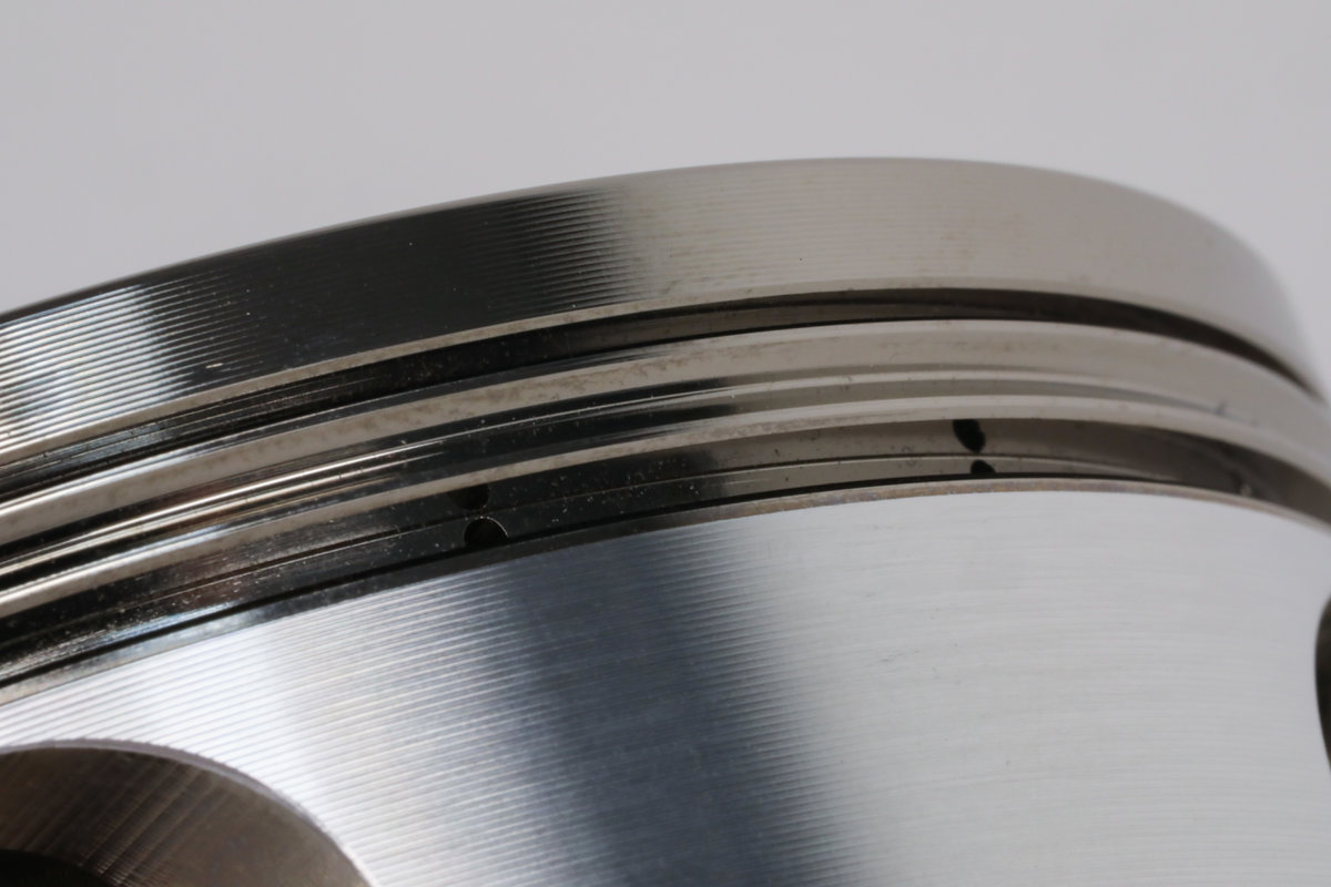 JE Pistons EN Plated Ring Grooves