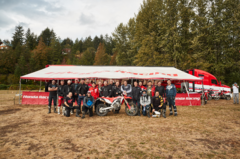 Honda CRF450L Test Ride Editors & Honda Staff