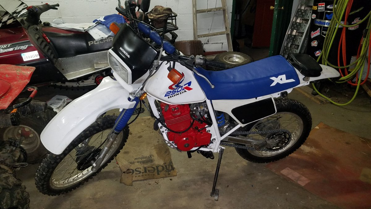 87 Honda XL250R running hot/pops oil/jetting? - XR250R & XR400R