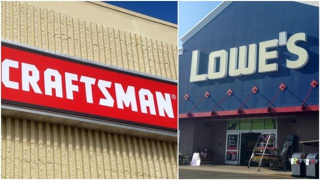 CRAFTSMAN tools new home...LOWE'S!!