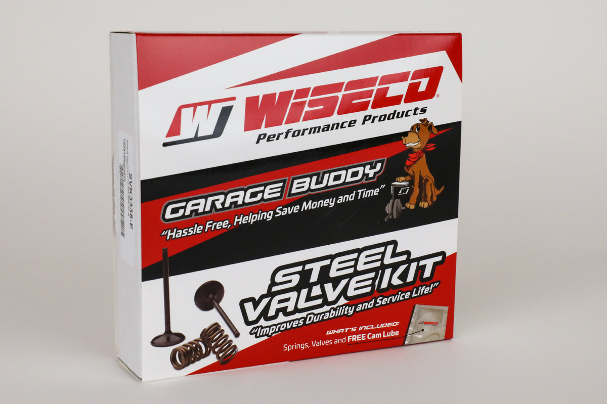 Wiseco's New Garage Buddy Steel Valve Kits