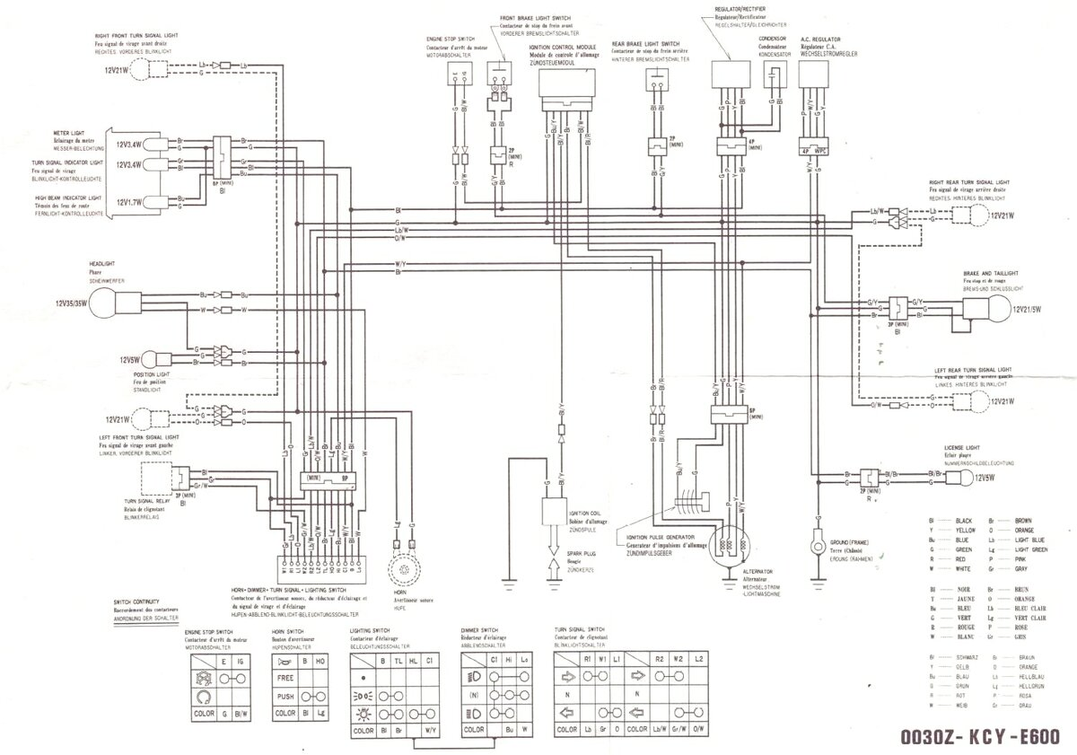 honda xl600r wiring diagram wiring diagram  xr650l wiring diagram 2004 wiring diagram