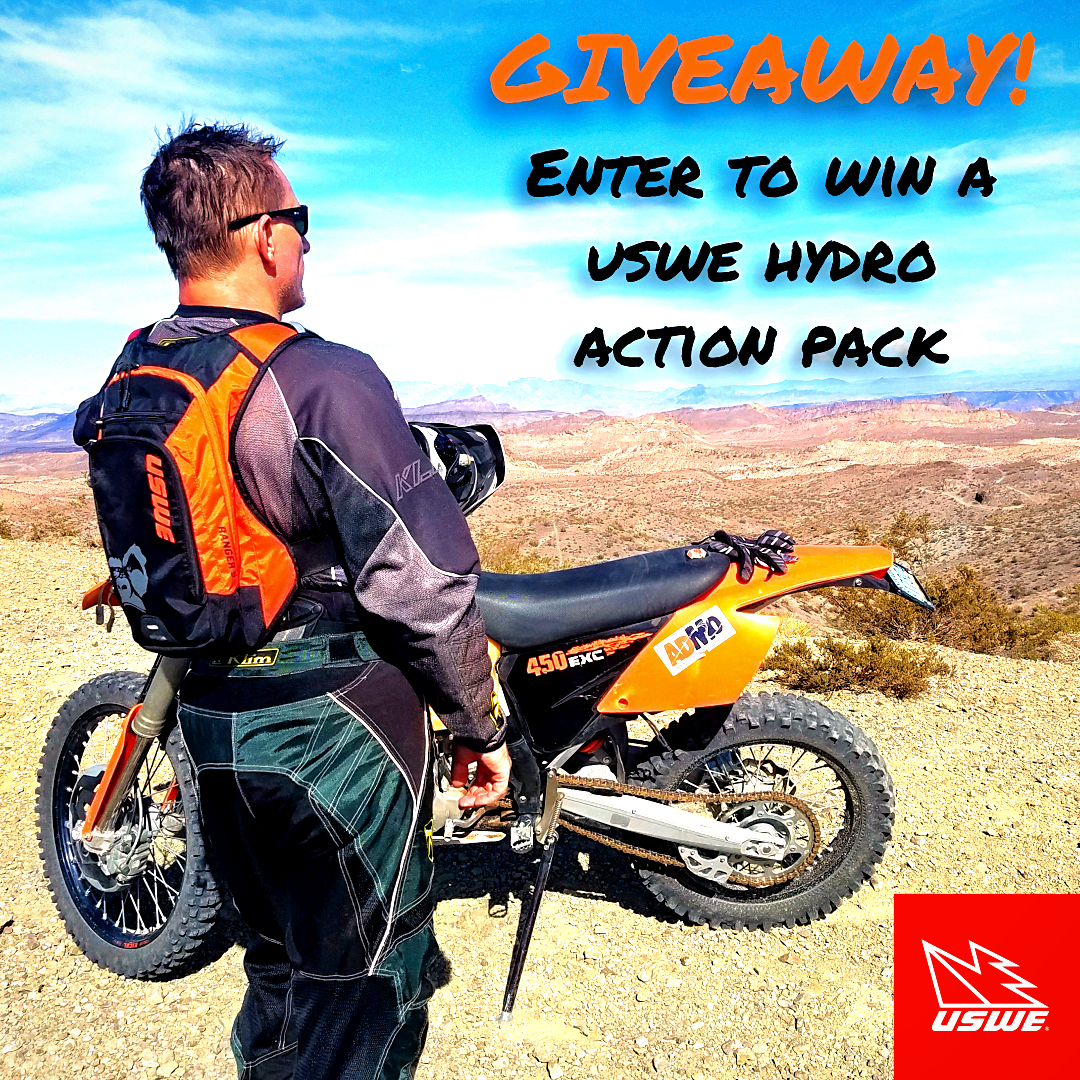 USWE Sports Action Hydro Packs Giveaways!!! (closed for entries)