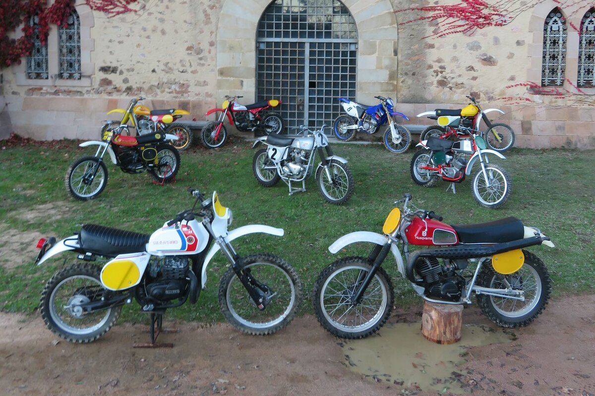 IMPORTANT COLLECTION OF MX AND ENDURO MOTORCYCLES UP FOR SALE