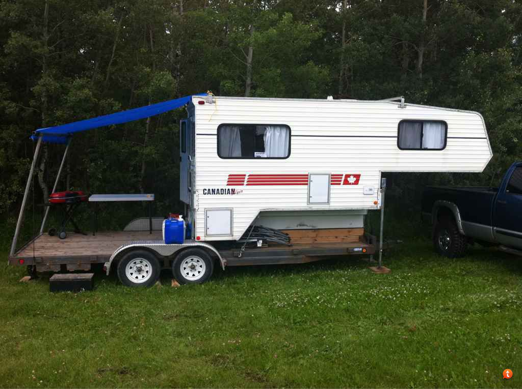 Suggestions For A Truck Camper In A Utility Trailer Trucks Trailers Rv S Toy Haulers Thumpertalk