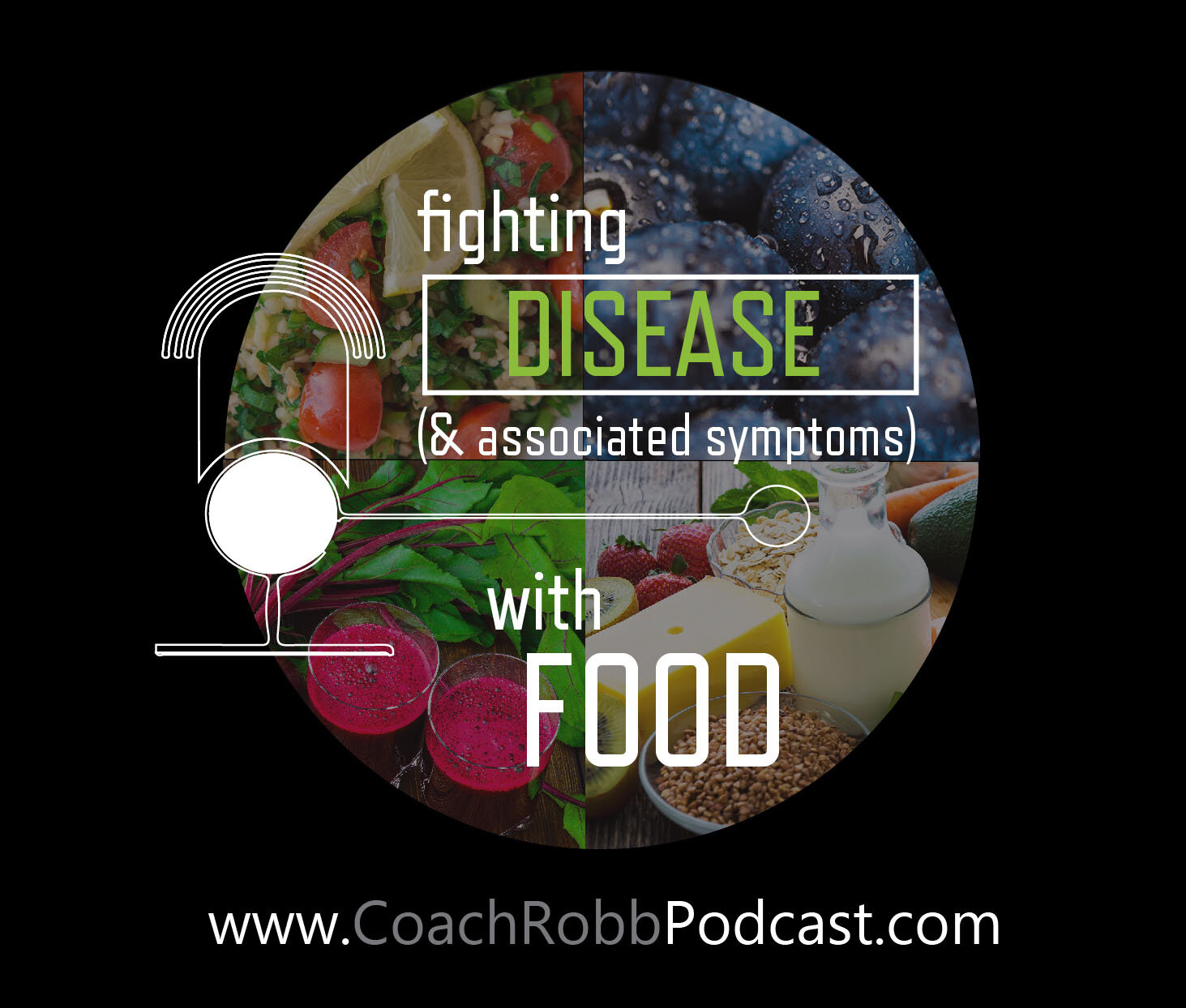 Coach Robb Podcast - Fighting Disease Through Food