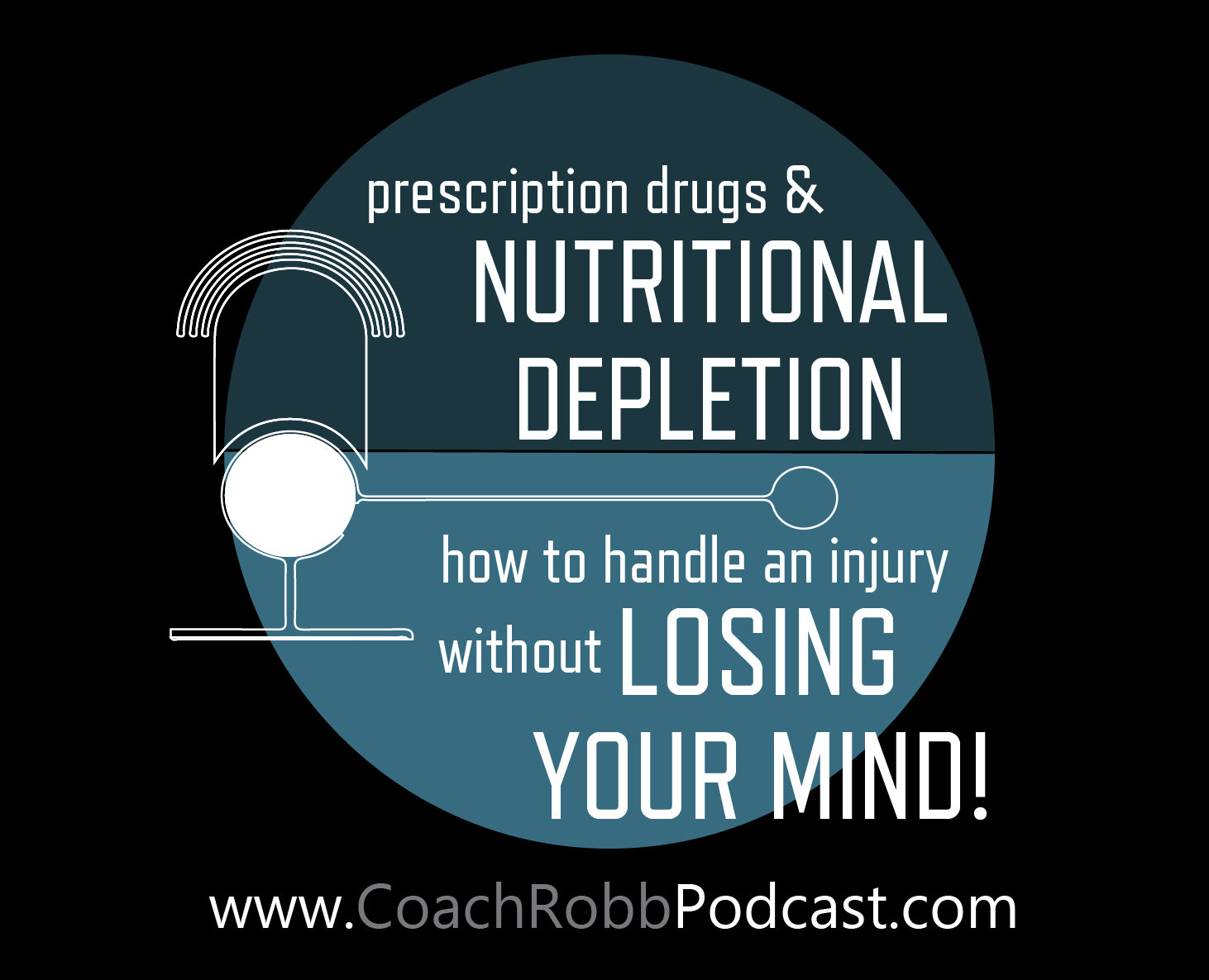 Prescription Drugs & Nutritional Depletion | How to Handle an Injury/Illness without Losing your Fitness and Your Mind!