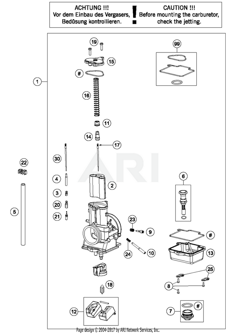 Mikuni Small Engine Carburetor Identification