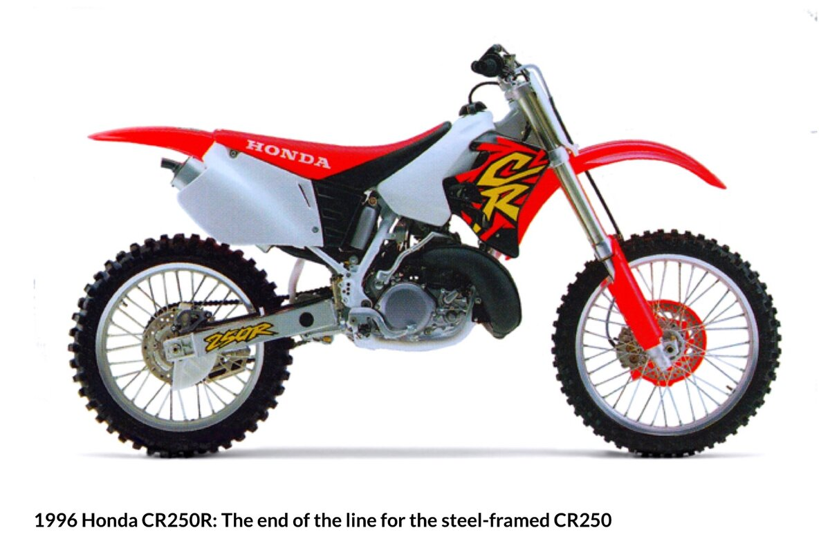 Oem seat cover on 1996 Honda cr250 - Honda 2 Stroke