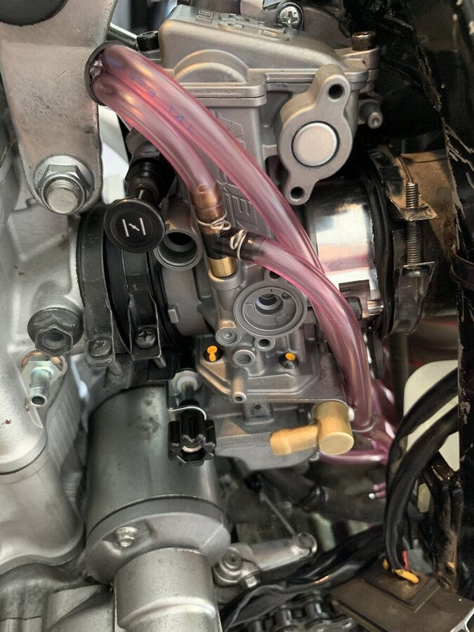 Fcr Install Issues - Drz400  E  S  Sm
