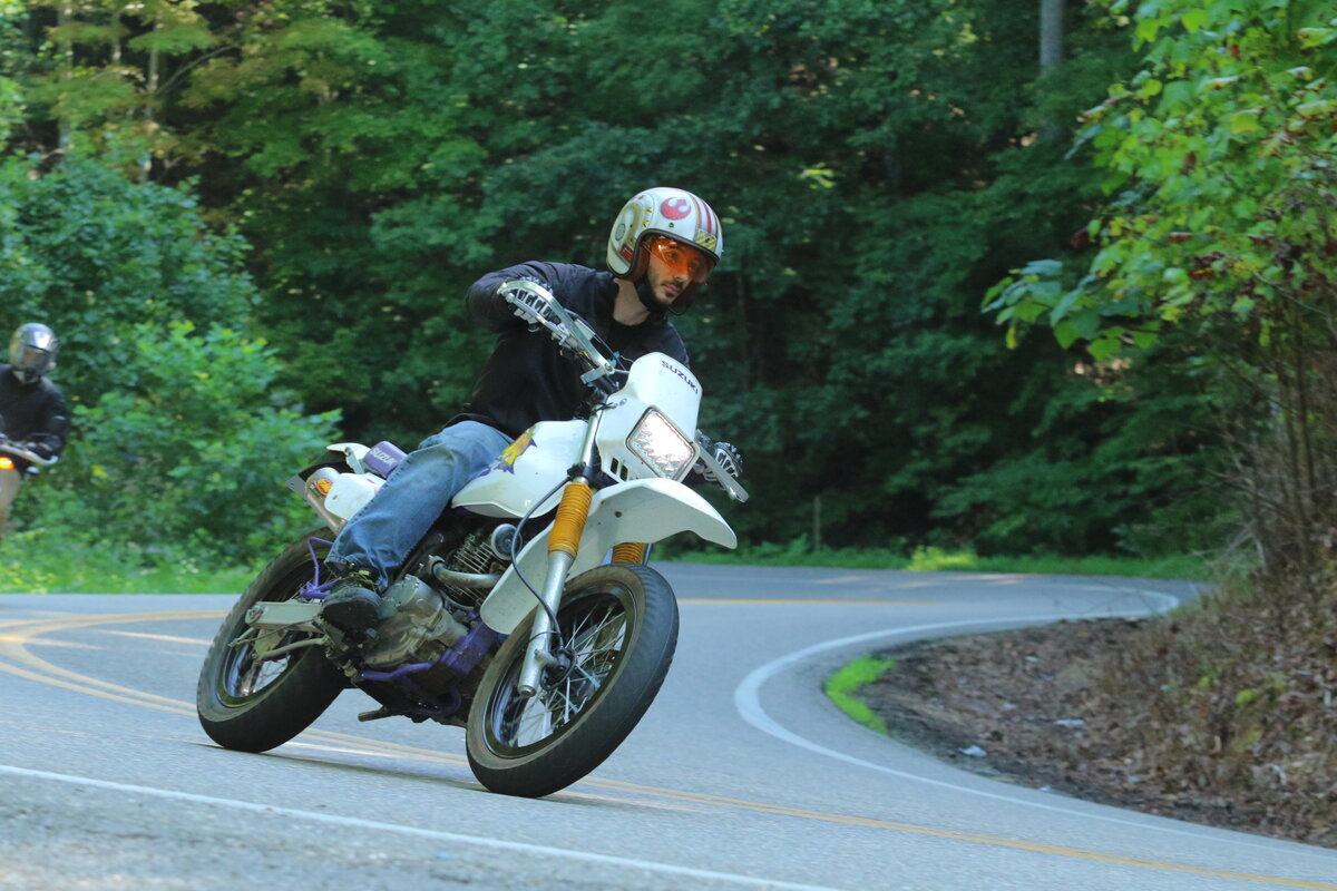 """129 Slayer 97 dr200 """"light weight"""" woods racer build - page 2 - drz 125"""