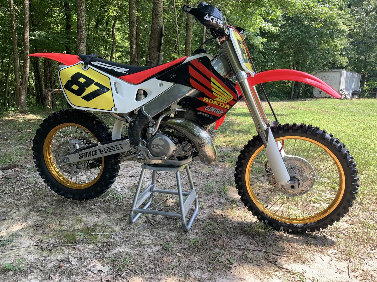 post pics of your cr's - page 346 - honda 2 stroke